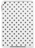 Decoded Leather Slim Cover iPad Air 1 Polka White