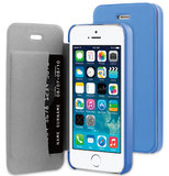 Be Hello Book case iPhone 5S/SE Blue