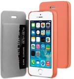 Be Hello Book case iPhone 5S/SE Coral