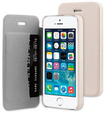Be Hello Book case iPhone 5S/SE Beige