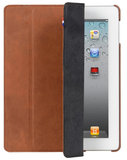 Decoded Leather Slim Cover iPad 3/4 Brown
