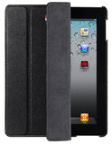 Decoded Leather Slim Cover iPad 3/4 Black