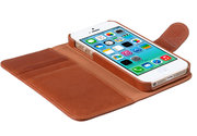 Melkco Alphard Wallet case iPhone SE/5S Brown