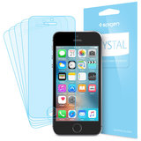 Spigen Crystal iPhone SE/5S screenprotector