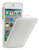 Melkco Jacka Flip case iPhone 5S/SE White