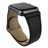 Piel Frama Leather Watch Strap 42 mm Black