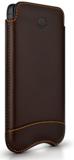 Beyzacases Slimline iPhone SE sleeve Brown