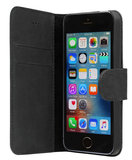 Bugatti Madrid iPhone SE/5S Leather Bookcase hoesje Black
