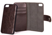 Xqisit Wallet Eman iPhone SE/5S hoesje Brown