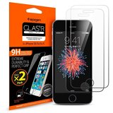 Spigen Glas.tR iPhone 5S/SE Tempered Glass screenprotector 2 pack