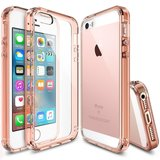 Ringke Fusion iPhone SE/5S hoesje Rose Gold