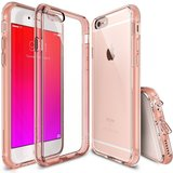 Ringke Fusion iPhone 6/6S hoesje Rose Gold