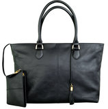 dbramante1928 Leather Amalienborg Tote Black