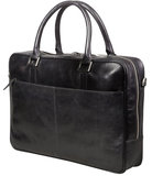 dbramante1928 Leather Rosenborg 14 inch bag Black