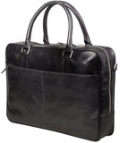 dbramante1928 Leather Rosenborg 16 inch bag Black