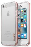 LAUT ExoFrame iPhone SE/5S hoesje Rose Gold