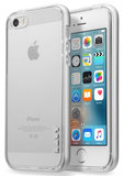 LAUT ExoFrame iPhone SE/5S hoesje Rose Silver