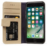 Decoded Leather Wallet iPhone 7 hoesje Sahara