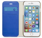Pipetto Magnetic iPhone 7 Wallet hoesje Medium Blue