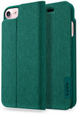 LAUT Apex Knit iPhone 7/8 Wallet hoesje Jade