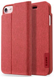 LAUT Apex Knit iPhone 7/8 Wallet hoesje Red