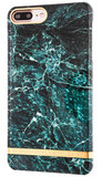 Richmond Finch Marble Glossy iPhone 7 Plus hoesje Green
