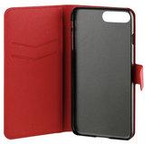 Xqisit Viskan Wallet iPhone 7 Plus hoesje Red