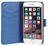 Xqisit Viskan Wallet iPhone 7 hoesje Blue