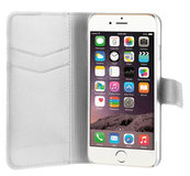 Xqisit Wallet iPhone 7 hoesje White