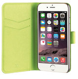 Xqisit Viskan Wallet iPhone 7 hoesje Green