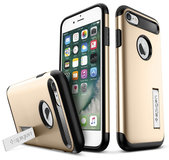 Spigen Slim Armor iPhone 7/8 hoesje Gold