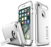 Spigen Slim Armor iPhone 7/8 hoesje Silver