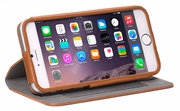 Decoded Leather Surface Wallet iPhone 6/6S hoes Brown