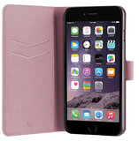 Xqisit Viskan Wallet iPhone 7 Plus hoesje Rose Gold