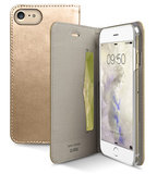 SBS Mobile Metallic Book iPhone 7 hoesje Gold