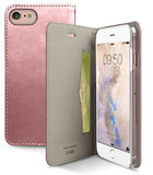 SBS Mobile Metallic Book iPhone 7 hoesje Rose Gold