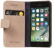 Decoded Leather Wallet iPhone SE/5S hoesje Rose