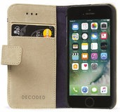 Decoded Leather Wallet iPhone SE/5S hoesje Sahara