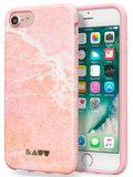 LAUT Huex iPhone 7/8 hoesje Marble Pink