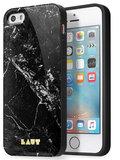 LAUT Huex Marble iPhone SE/5S hoesje Black