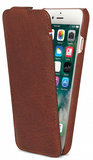 Decoded Leather Flipcase iPhone 8/7/6 hoesje Brown