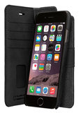 Bugatti Berlino iPhone 7/8 Wallet 2 in 1 hoes Black