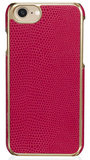 Pipetto Leather Snap iPhone 7/6 hoesje Cerise