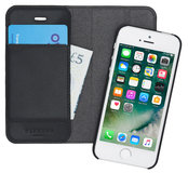 Pipetto Magnetic iPhone SE/5S Wallet hoesje Black