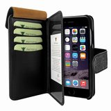 Piel Frama WalletMagnum iPhone 7 hoesje Croco Zwart