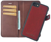 imoshion Leather 2 in 1 Wallet iPhone 7 hoesje Rood