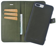 imoshion Leather 2 in 1 Wallet iPhone 7 Plus hoes Groen