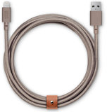 Native Union Belt XL Lightning kabel Taupe