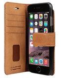 Bugatti Zurigo iPhone 6/6S Wallet hoes Cognac