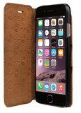 Bugatti Parigi iPhone 6/6S Wallet hoes Cognac